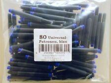 80 Patronen Tintenpatrone geeignet für Lamy Pelikan Herlitz Universalpatron etc