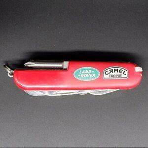 Land Rover Camel Trophy Pocket Knife Multi-Tool British Defender 4x4 OffRoad MG