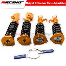 Coilovers Suspension Kit For Toyota Corolla 88-99 E90 E100 E110 Adj Camber Strut