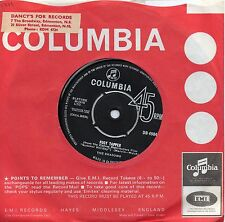 SHADOWS      FOOT TAPPER/ THE BREEZE AND I    UK COLUMBIA  60s POP