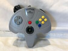 SUPERPAD64 FOR NINTENDO64 GAME CONTROL PAD Works Missing Cover on Joystick
