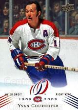 2008-09 Upper Deck Montreal Canadiens Centennial #6 Yvan Cournoyer