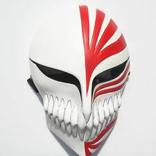 Red Bleach Ichigo Kurosaki Halloween Anime film Resin Mask Craft Collectable