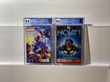 POINT ONE #1 CGC 9.6 NM 1st App SAM ALEXANDER  2012 & NOVA 1 9.6 Marvel 🔥🔑 HTF