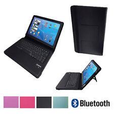 QWERTZ Bluetooth Tastatur Schutzhülle Asus Google Nexus 7 7 Zoll Schwarz