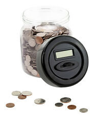Digital Money / Coin Counter Jar - Electronic Piggy Bank With LCD Screen