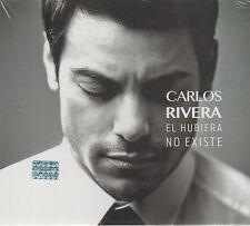 CD - Carlos Rivera  NEW El Hubiera No Existe  - FAST SHIPPING !
