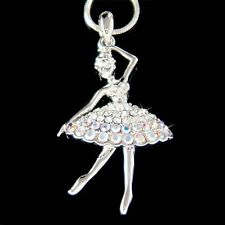 w Swarovski Crystal ~BALLERINA~ Ballet Dancer Necklace 4 The Nutcracker Jewelry