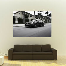Cadillac CTSV CTS-V Sedan on 360 Forged wheels HD Poster Huge 54x36 Inch Print