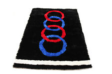 Kids Racing Theme V8 Quattro Rug - 1.7m x 1.2m - Exclusive To Fast Car Beds