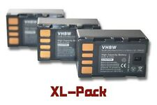 3x BATTERIA PER - JVC GC-PX100, GC-PX100BEU