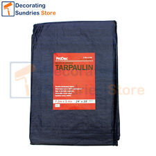 ProDec LARGE Tarpaulin 7.2 x 5.4 Metres | 24' x 18' Heavy Duty Waterproof Sheet