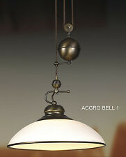 New Ceiling Light Fixture, for Kitchen, Dinette + Other Rooms. Accro bell 1.