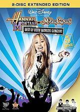 Hannah Montana  Miley Cyrus: Best of Both Worlds Concert (DVD, 2008, 2-Disc Set,