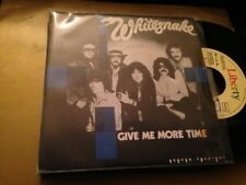 "WHITESNAKE - SPANISH PROM0 7"" SINGLE SPAIN GIVE ME - HARD ROCK"