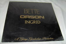 s/t BETTE DAVIS/ORSON WELLES/INGRID BERGMAN-NEW SEALED VINYL RECORD ALBUM LP
