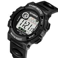 Fashion Men Women Sport Date Alarm Watch Digital Waterproof Students Wrist Watch