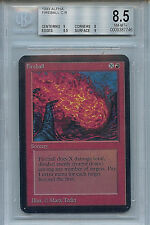 MTG Alpha Fireball Graded BGS 8.5 NM/MT+ card Magic the Gathering WOTC 7646