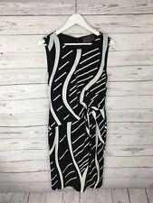 FENN WRIGHT MANSON Dress - Size UK12 - Black & White - Great Condition