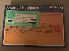 POLA HO Scale Assorted Equipment - 11461 - Sealed New In Box