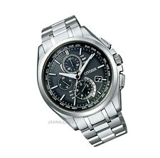 CITIZEN AT8040-57E ATTESA Super Titanium Eco-drive World time radio watch