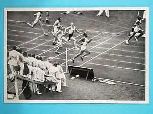 1936 Reemtsma Band II Olympia Jesse Owens USA Track #31 🥇