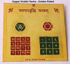 24 K. GOLD PLATED VYAPAR VRIDDHI YANTRA