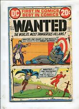 "WANTED, WORLDS MOST DANGEROUS VILLAIN #2 - ""TARGET: BATMAN!"" - (7.0) 1972"