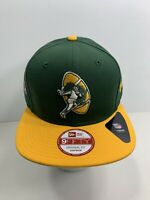 New Era NFL 9FIFTY Retro Green Bay Packers SnapBack Flat Bill Cap, NEW!