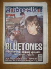 MELODY MAKER 1996 FEB 10 BLUETONES SUPERGRASS ECHOBELLY