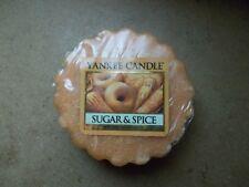 Yankee Candle USA Rare Sugar & Spice Wax Tart