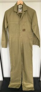 KING GEE WORKWEAR OVERALLS ARMY UNIFORM HUNTING COVERALL - SIZE 74L
