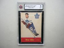 1955/56 PARKHURST NHL HOCKEY CARD #13 BRIAN CULLEN ROOKIE KSA 5 EX NICE!! PARKIE