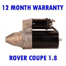 ROVER COUPE 1.8 16V 1996 1997 1998 1999 REMANUFACTURED STARTER MOTOR