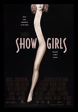 SHOWGIRLS * CineMasterpieces MOVIE POSTER 1995 ORIGINAL SS STRIPPER DANCE DANCER