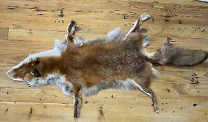 Red Fox Skin Fur Pelt