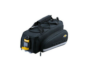 Topeak RX Trunk Bag Ex With Quicktrack Mount Black