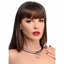 Stainless Steel Combination Lock Slave Collar Bondage Necklace Master Series NR!