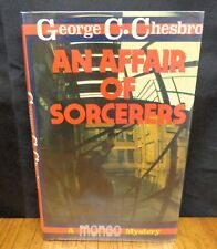 AN AFFAIR OF SORCERERS - 1st British Edition By George C. Chesbro  Mongo Mystery