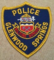CO Gleenwood Springs Colorado Police Patch