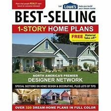 Lowe's Best-Selling 1-Story Home Plans (Lowe's), Home Plans, Editors of Creative