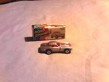 1983 ROAD CHAMPS 1963 SILVER CORVETTE #45 WITH BOX,OPENING DOORS