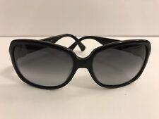 Womens COACH Sunglasses Eye Glasses Logo Black Plastic Sun Frames Designer