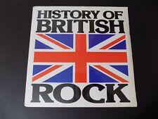 New listing '76 2 LP var SEALED History of British Rock SIRE Club Beatles Cream Kinks Troggs