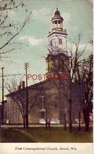 FIRST CONGREGATIONAL CHURCH, BELOIT, WIS.