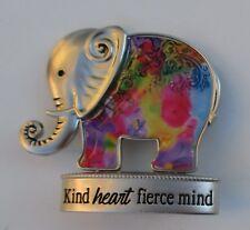 e Kind heart fierce mind Lucky Elephant Figurine miniature Ganz