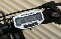 Ordinateur Compteur de Vitesse de Ordinateur LCD pour Vélo Bicyclette
