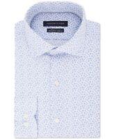 Tommy Hilfiger Mens Regular Fit Non-Iron THFlex Stretch Floral Shirt 15 32/33