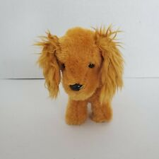 "American Girl Puppy Cocker Spaniel Pet Children's Toy Brown Plush Dog 6"" Posable"