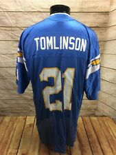San Diego Chargers Ladainian Tomlinson Jersey Mens XL Reebok #21 Football NFL
